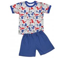 Piżama dziecięca krótki rękaw