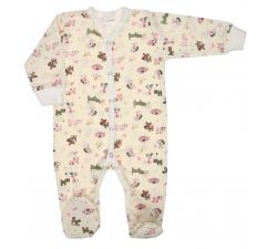 Pajac niemowlęcy bawełniany