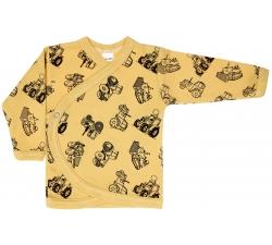 Koszulka kopertowa kaftanik niemowlęcy